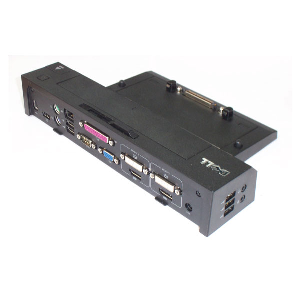 Dell Laptop Notebook E-Port Replicator Docking Station PR02X