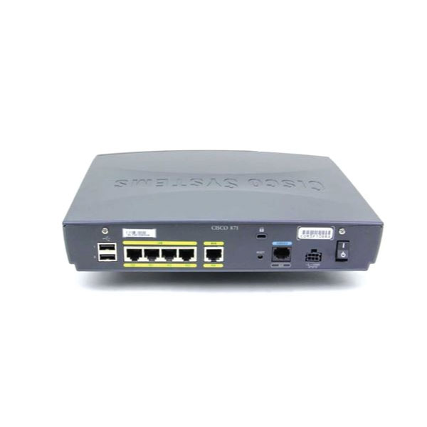 Cisco 871-K9 V03 870 Secure Integrated Services Router | NO ADAPTER 3mth Wty