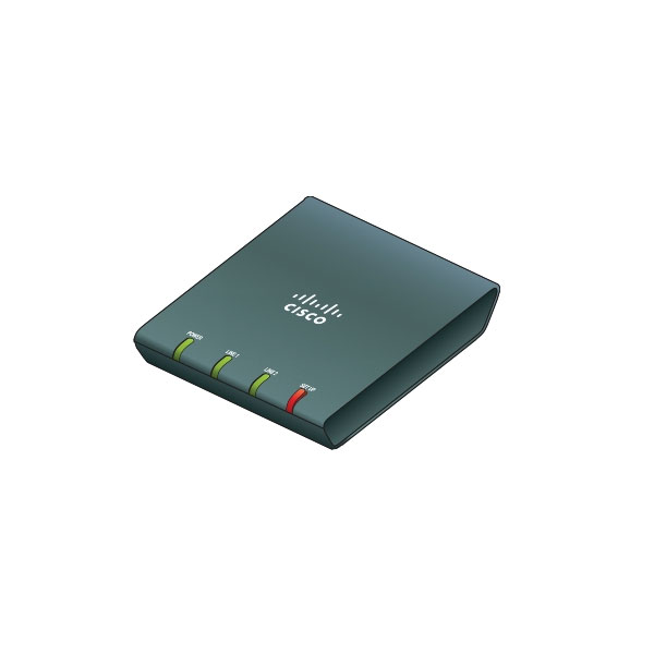 Cisco ATA187 UC Analog Telephone Adapter